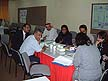 BHR02MHB62 Bahraini professionals attend Health Impact Assessment training course. Arabian Gulf University, Bahrain. Copyright Tropix (V. and M. Birley)