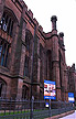 ENG02TX4_02 Former red sandstone school (1840) now to luxury apartments: The Collegiate; architect Urban Splash. Liverpool, England.